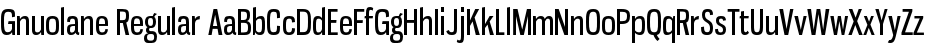 Gnuolane Regular