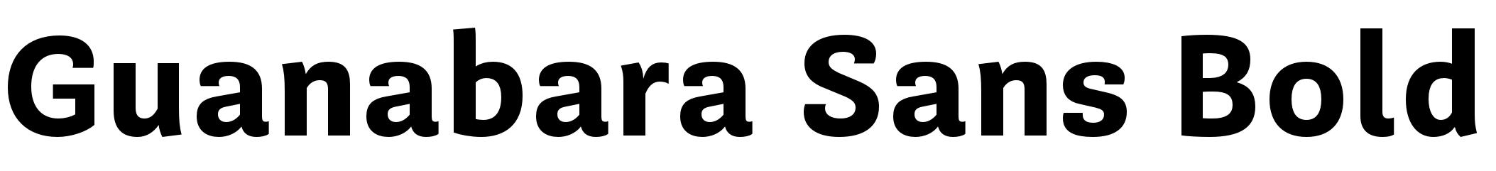 Guanabara Sans Bold