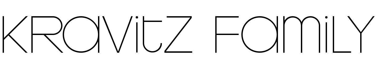 Kravitz Family Bundle by Fontalicious : Font Bros