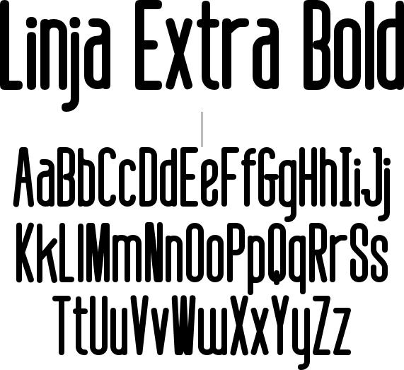 Linja Extra Bold