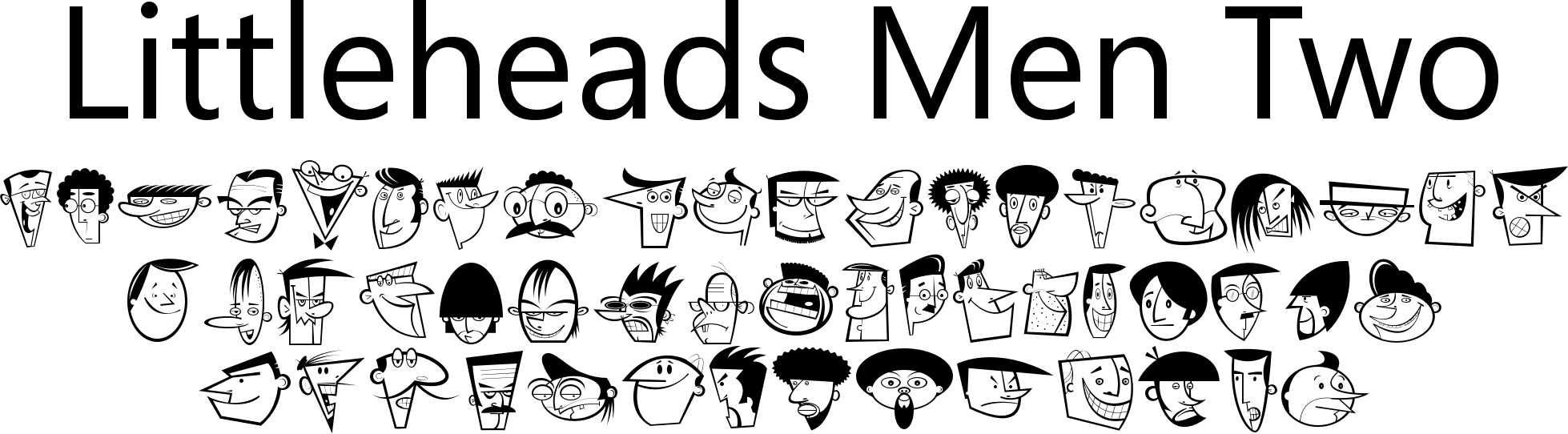 Littleheads Men Two