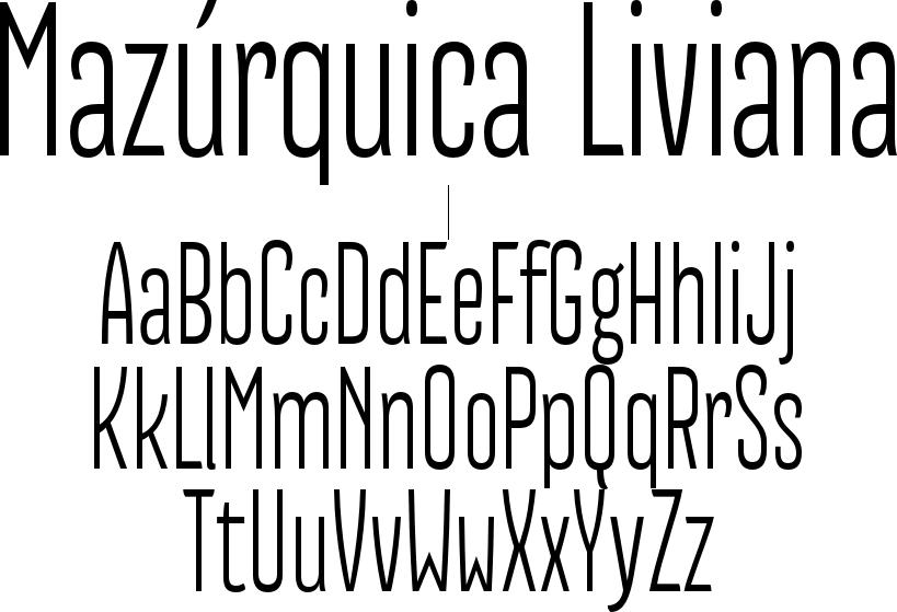 Mazúrquica Liviana