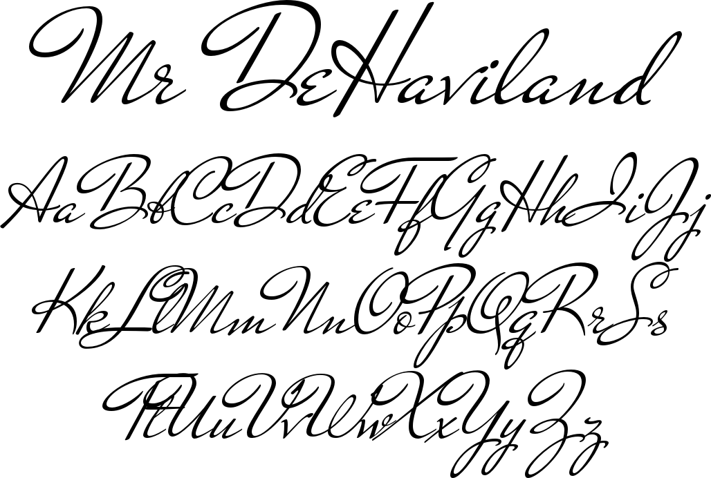 Mr DeHaviland