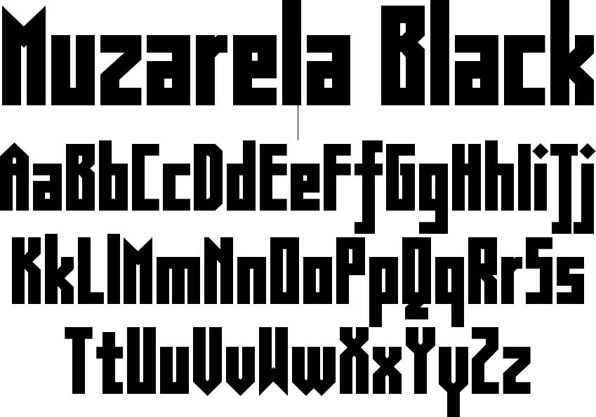 Muzarela Black