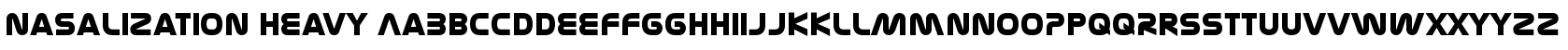Nasalization Heavy