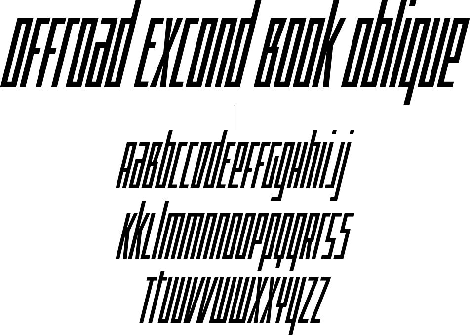 Offroad ExCond Book Oblique