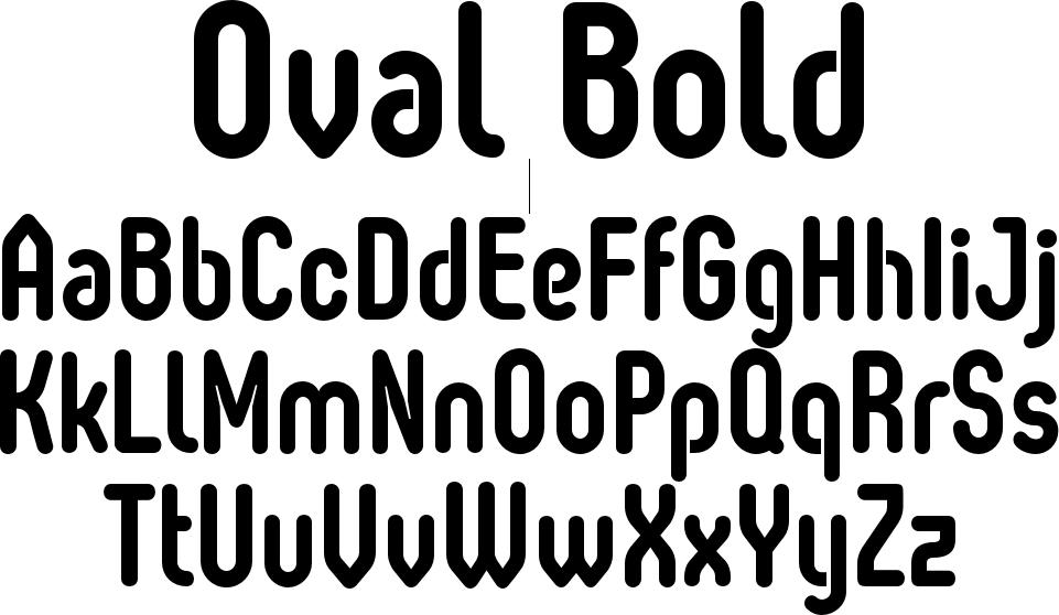 Oval Bold