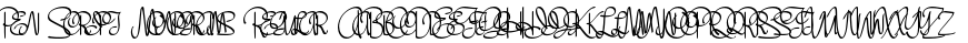 Pen Script Monograms