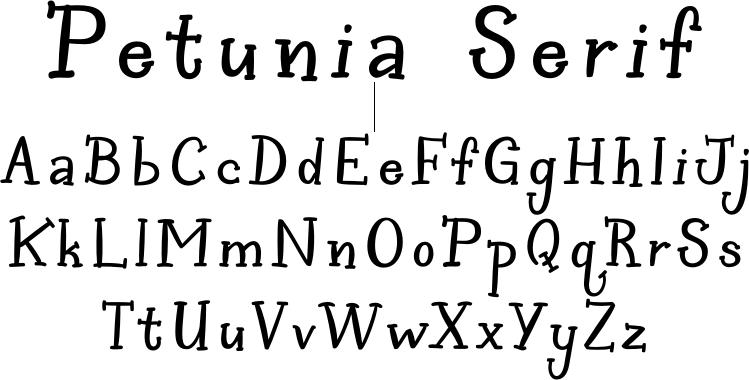 Petunia Serif