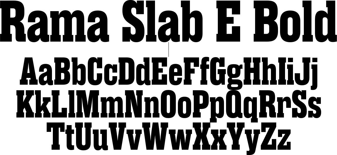Rama Slab E Bold