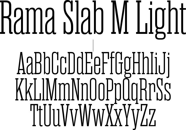 Rama Slab M Light