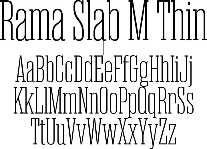 Rama Slab M Thin
