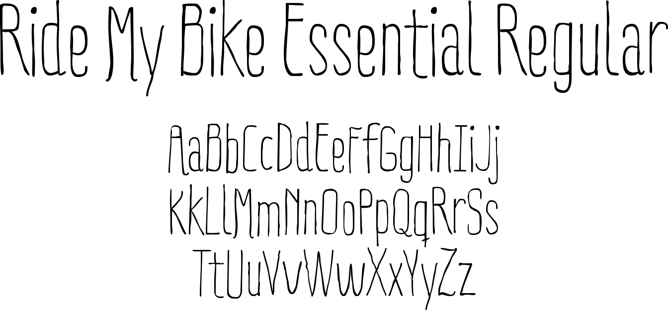 Ride My Bike Essential Regular