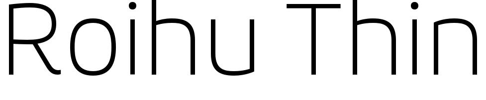 Roihu Thin