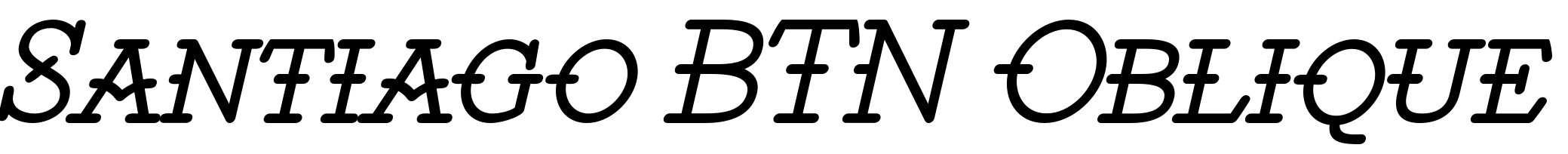 Santiago BTN Oblique