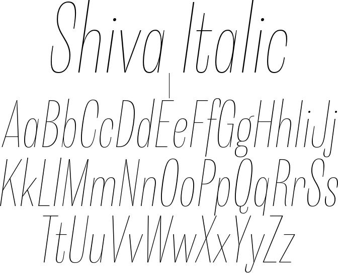 Shiva Italic