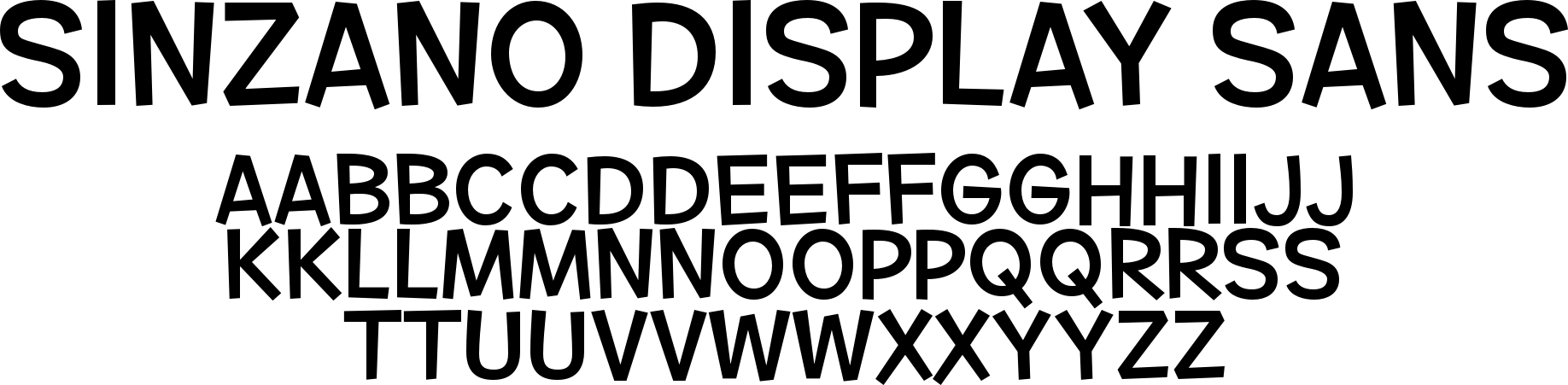 Sinzano Display Sans