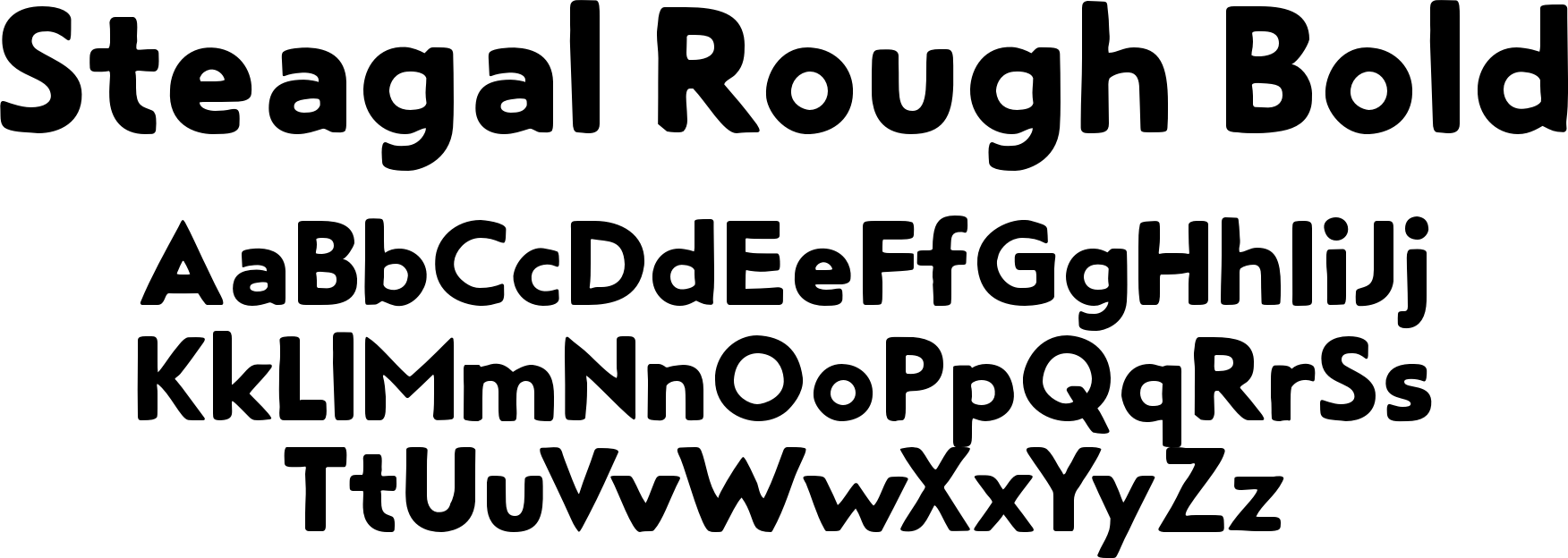 Steagal Rough Bold