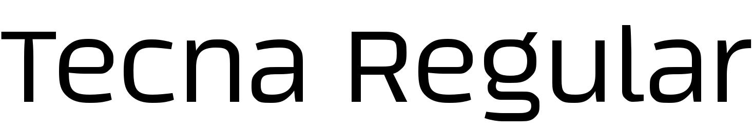 Tecna Regular