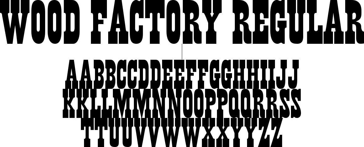 Wood Factory Regular