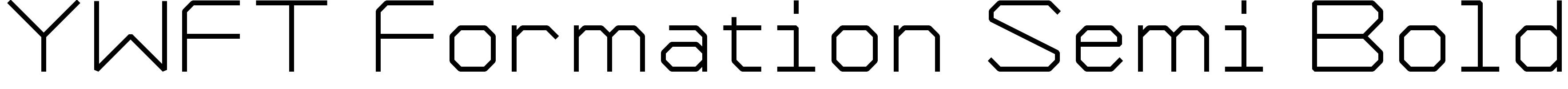 YWFT Formation Semi Bold