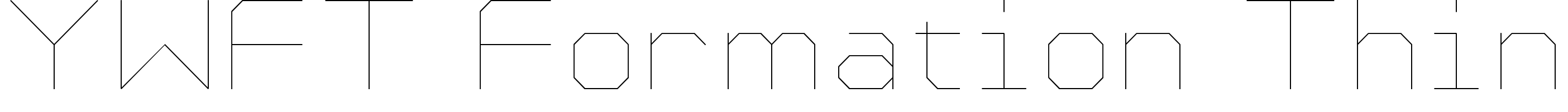 YWFT Formation Thin