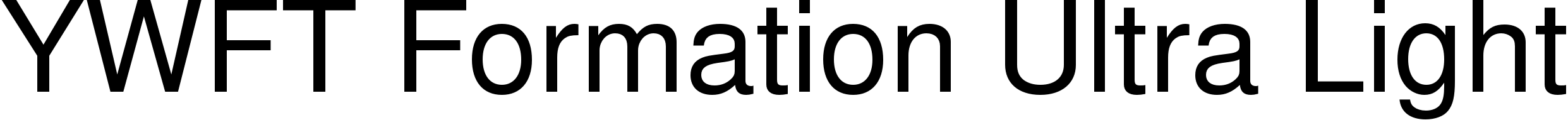 YWFT Formation Ultra Light